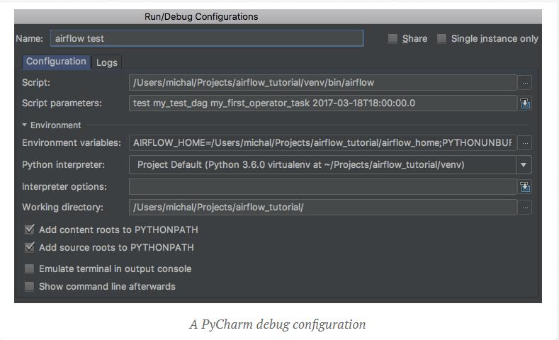 PyCharm 디버그 설정
